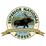 Superior National Forest Centennial Logo