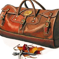 Duluth Pack: Leather Duffle