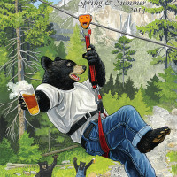 "William's Brewing: ""Zipline Bear"""