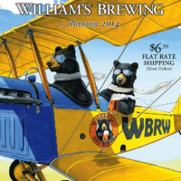 "William's Brewing: ""35th Anniversary Bear Biplane Cover"""