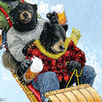 "William's Brewing: ""Toboggan Bears"""