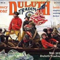 "Duluth Trading Company: ""Washington Crossing the Delaware"""