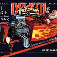 """Duluth Trading Company: """"Hotrod Santa"""""""