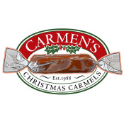 Carmen's Christmas Carmels logo