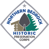 Northern Bedrock Historic Preservation Corps logo