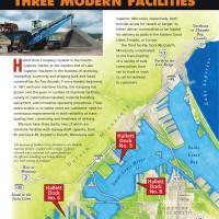 Hallett Dock Company Map