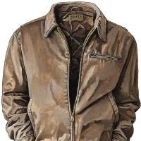 Duluth Trading Company: Leather Jacket