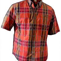 Duluth Trading Company: Short-sleeve Plaid Shirt