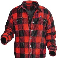 Duluth Trading Company: wool plaid shirt-jac