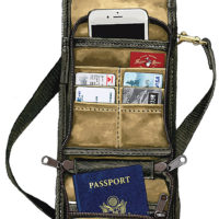 Frost River: Circle Tour Travel Wallet
