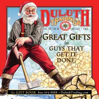 "Duluth Trading Duluth Trading Gift Catalog: ""Santa Chopping Wood"""