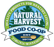 Natural Harvest Food Coop logo