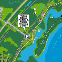 Duluth City Kayak Bay Map