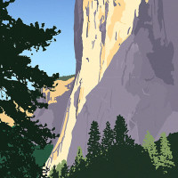 Mountain Postcard: EL Cap