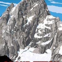Mountain Postcard: the Grand Teton