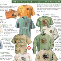 Duluth Pack Catalog Page Spread