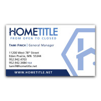 Home Title Business Card