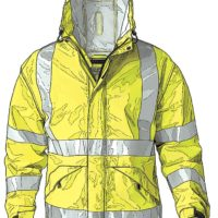 Duluth Trading DOT-compliant Raincoat
