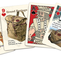 Frost River Playing Cards