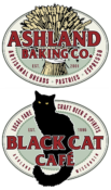 Ashland Baking Co. & Black Cat Café Logos