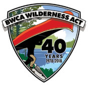 Boundary Waters 40th Anniversary Logo