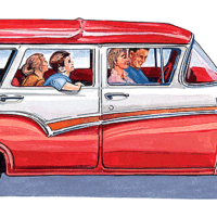 Ford 1957 Station Wagon