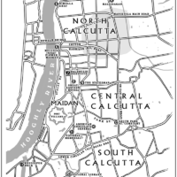 Map of Calcutta