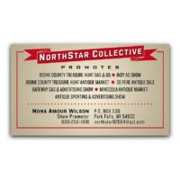 North Star Business Card
