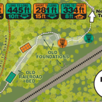 Quarry Park Disc Golf Map